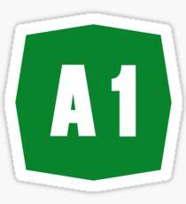 Autostrada A1 Sticker