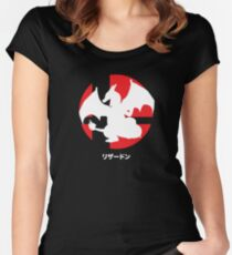 Smash Bros. Charizard Women's Fitted Scoop T-Shirt