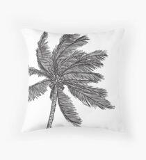 Tropical Simplicity Throw Pillow