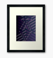 Purple Darkness Framed Print