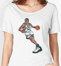 Paul Pierce Celtics Art Women's Relaxed Fit T-Shirt