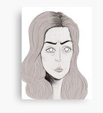 Gillian Anderson Canvas Print