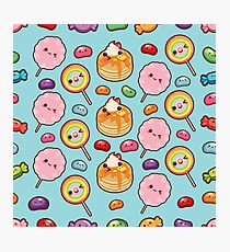 Cutie Foodies - Sweets Photographic Print
