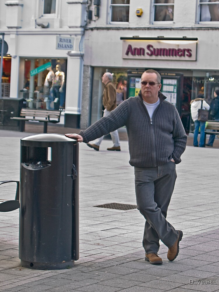 Ann Summers I'll wait out here Thanks by Daveart