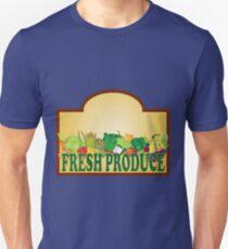 Fresh Produce Signage Illustration T-Shirt