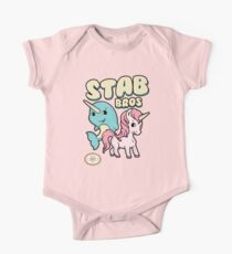 Stab Bros! Narwhal and Unicorn Team Up! Kids Clothes