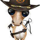 Netter Pony-Zombie-Jäger von jeff bartels