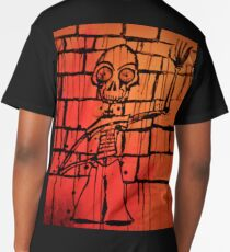 The Red Skeleton Long T-Shirt