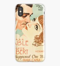 It Happened One Night iPhone Case/Skin