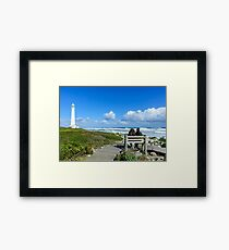 Slangkop Lighthouse Framed Print