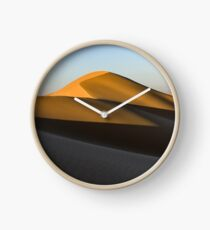 Beautiful dunes of Dubai Desert Clock
