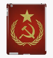 Hammer & Sichel Sternflagge (kommunistisch) iPad-Hülle & Klebefolie