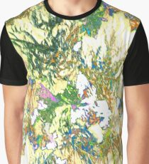 Ivy Abstract - Yellow Multi Graphic T-Shirt