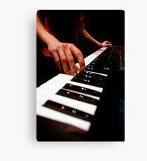 Idle Machine: Keys Canvas Print