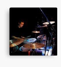 Idle Machine: Drums Canvas Print