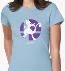 Smash Bros. Mewtwo Womens Fitted T-Shirt