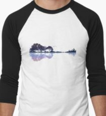 Nature Guitar Men's Baseball ¾ T-Shirt