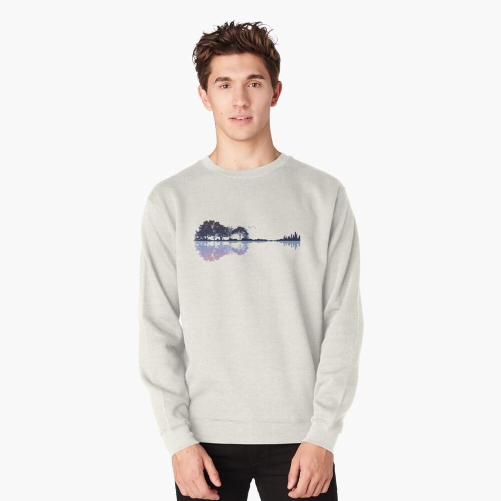 Nature Guitar Pullover Sweatshirt