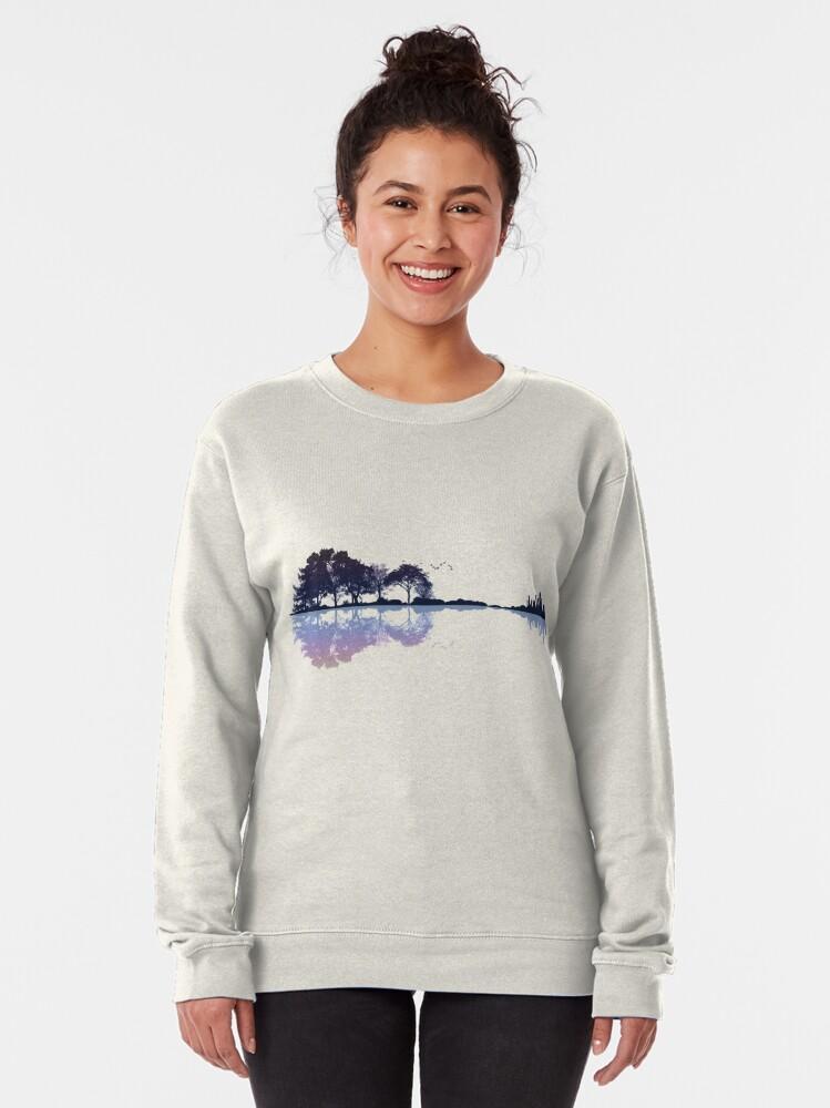 Alternate view of Nature Guitar Pullover Sweatshirt