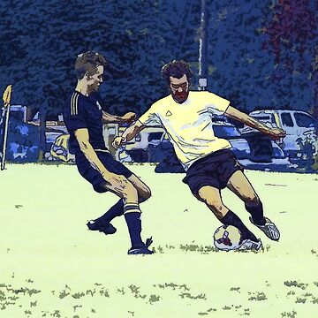 The Challenge - Soccer Players by NaturePrints