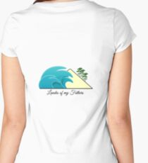 Landes of my Fathers - Dos Women's Fitted Scoop T-Shirt