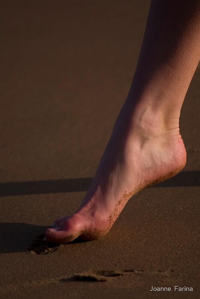 foot by Joanne  Farina