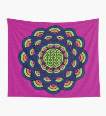 Flower Of Life Mandala 2 Wall Tapestry