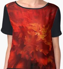 Flower Fire Women's Chiffon Top