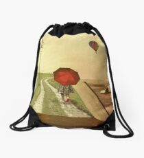 narrative Drawstring Bag