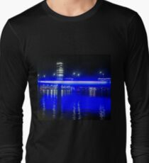 Painting the Town Yves Klein Blue Long Sleeve T-Shirt