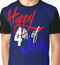 Happy 4th of July Graphic T-Shirt