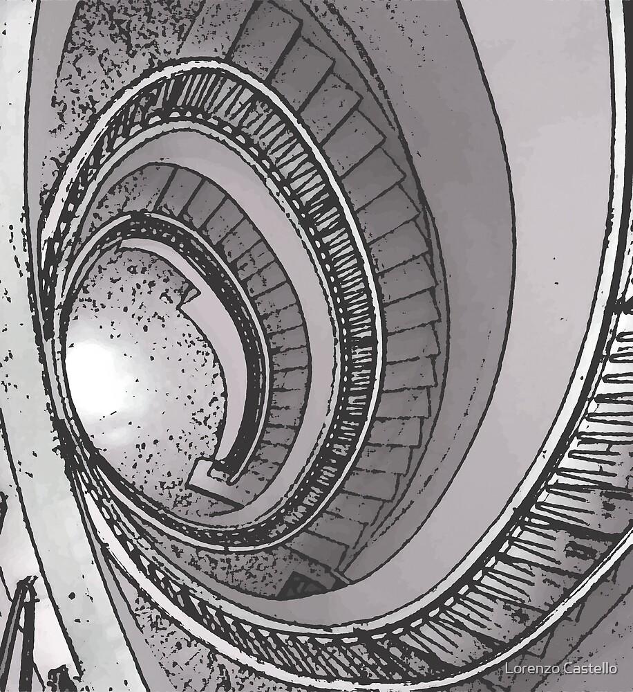 Staircase by Lorenzo Castello