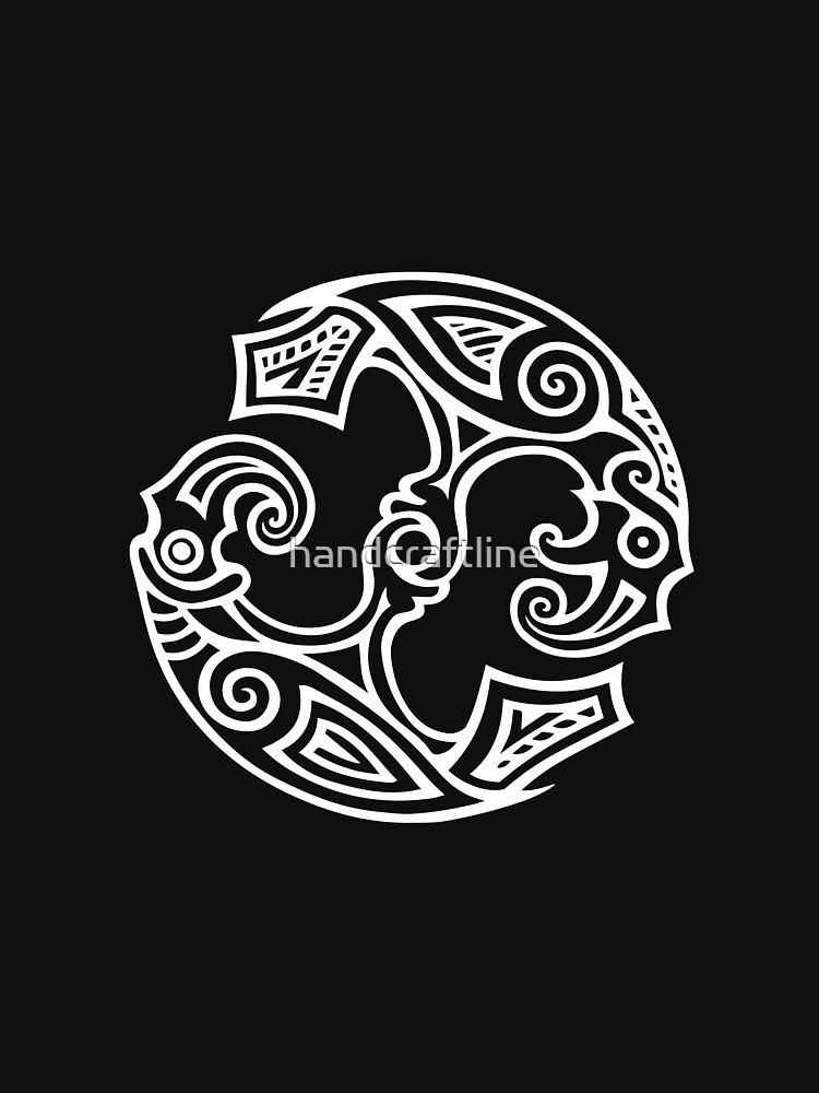 Odins Ravens, Huginn and Muninn by handcraftline