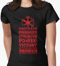 Code of the Sith Women's Fitted T-Shirt