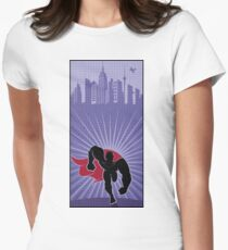 Superhero Banners 2 - 03 Womens Fitted T-Shirt