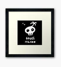 Skull Island  Framed Print