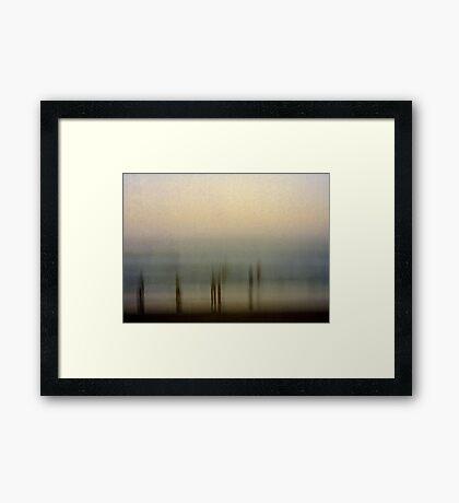 Edge of Reality #1 Framed Print