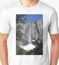 Yosemite upper falls, Yosemite national Park, California USA T-Shirt