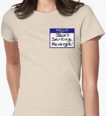"Fight Club- ""I AM JACK'S SMIRKING REVENGE"" Women's Fitted T-Shirt"