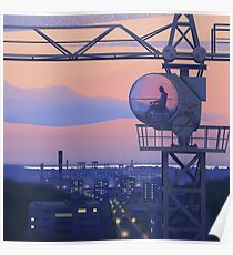 Tower Crane Poster