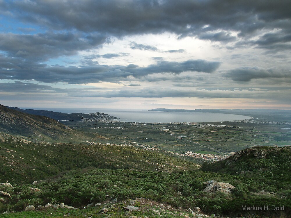 The Bay of Rossas (Spain) by Markus H. Dold