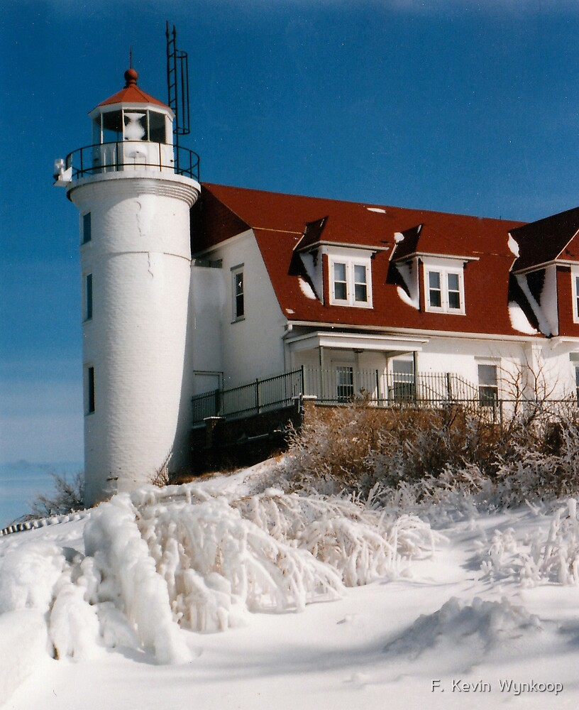150 Years of Service - Point Betsie Lighthouse by F.  Kevin  Wynkoop