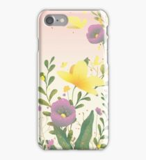 Summer Flowers composition iPhone Case/Skin