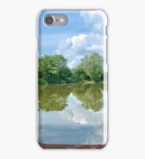Calm Fishing Lake iPhone Case/Skin