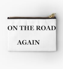 ON THE ROAD AGAIN Studio Pouch