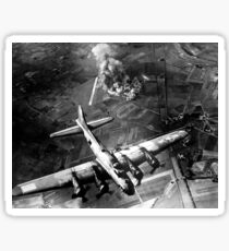 The first big raid by the 8th Air Force on a Focke Wulf plant at Marienburg. Sticker