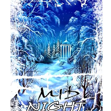 MidNight design - blue and white pretty colours by billyva