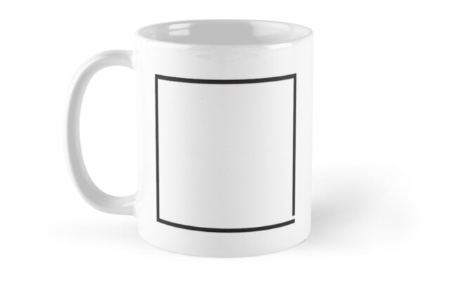 imperfect square mugs by snibel redbubble