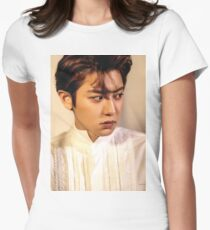 exo chanyeol Womens Fitted T-Shirt