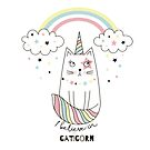 I believe in caticorn by peggieprints